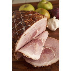 Cooked glazed middle gammon joint
