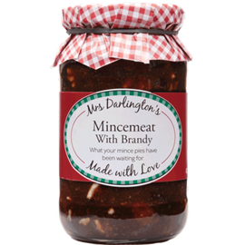 Mrs Darlington's Mincemeat with Brandy (410g)