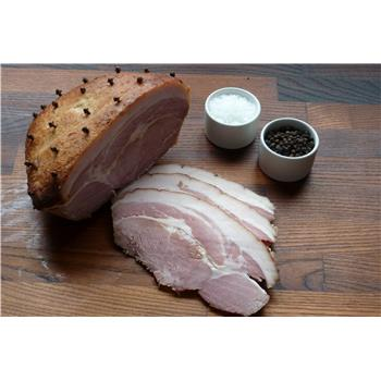 Cooked glazed and sliced ham (pack)