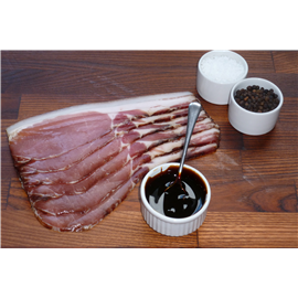 Shropshire black back bacon