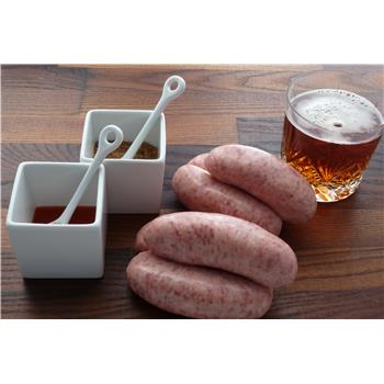 Pork, Shropshire Ale and wholegrain mustard sausages