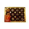 Kneals 12 Handmade Dark Chocolate Collection (180g)