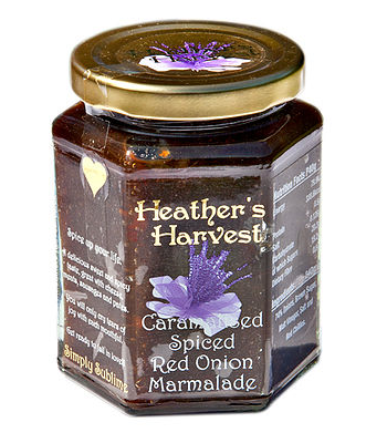 Heather's Harvest Caramelised Spiced Red Onion Marmalade (395g)