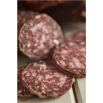 Pork & Garlic & Fennel salami (sliced)
