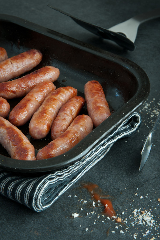 'proper' pork sausages